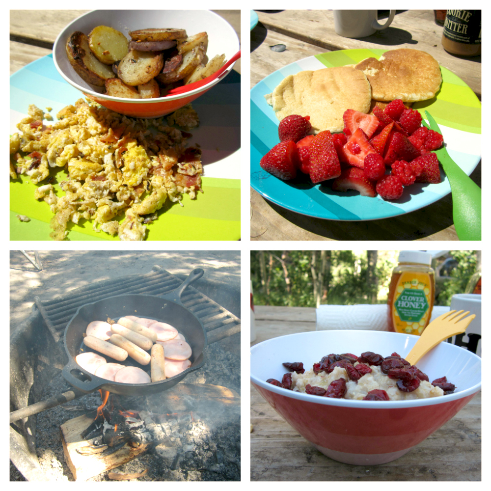 Camping Food: Our First Camping Trip {part 3: Camp Meal-planning Made Simple}