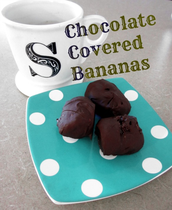 chocolate dipped banana 2