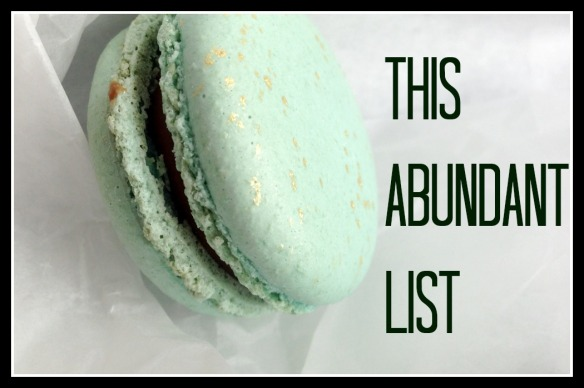 this abundant list jan 3