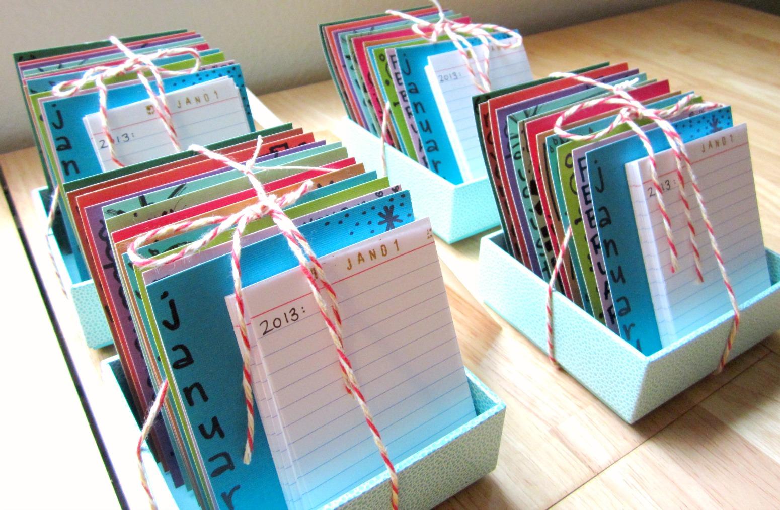 diy: paper calendar journal | this abundant life