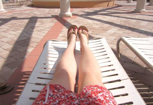 florida sunning