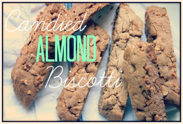 Candied Almond Biscotti