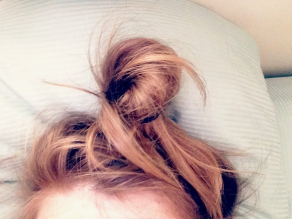 lazy hair
