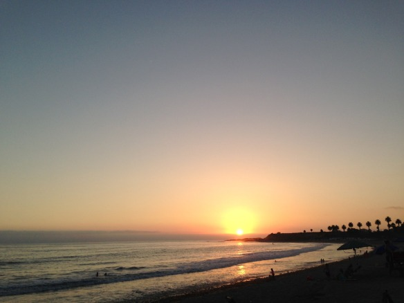 san o sunset